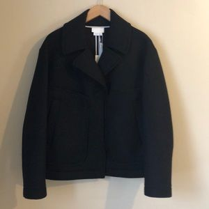 DKNY women's wool coat